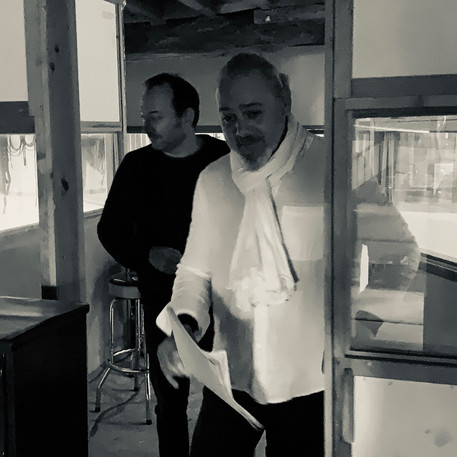 Alexandre Léauthaud et Patrick Waleffe - Label Baboo Music - Studio b - 47220 Astaffort