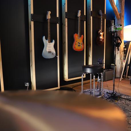 Cabine - Guitares - Basses - Label Baboo Music - Studio b - 47220 Astaffort