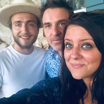 Uhaïna, Allan Védé, Esthen et Aurélie Cabrel - Label Baboo Music - Studio b - 47220 Astaffort