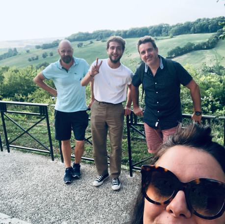 Christophe Hénin, Allan Védé, Esthen et Aurélie Cabrel - Label Baboo Music - Studio b - 47220 Astaffort