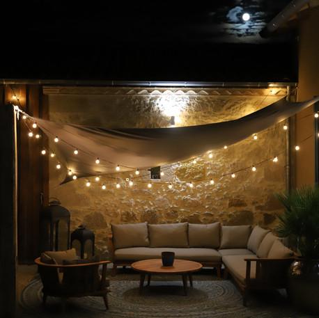Espace détente le soir sous la lune - Label Baboo Music - Studio b - 47220 Astaffort