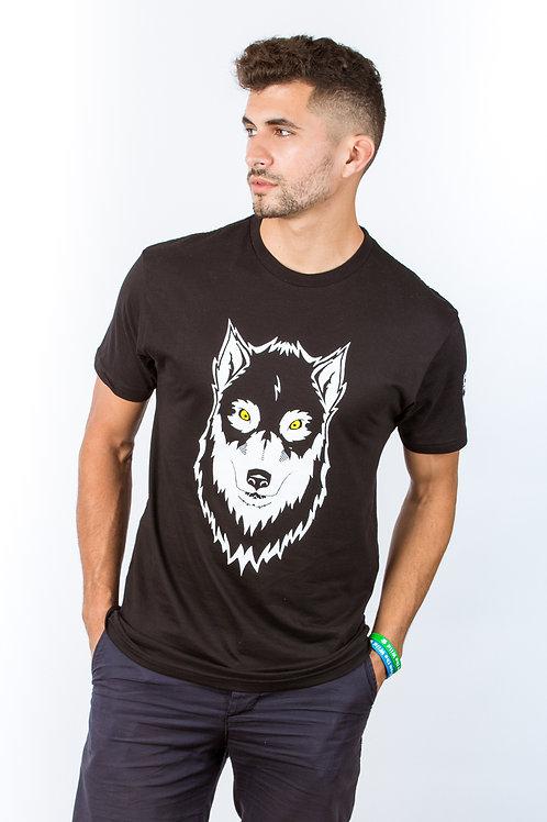 Mens Miracle Wolf T shirt