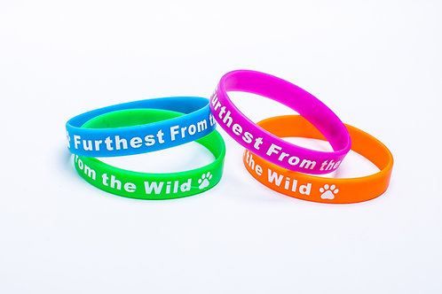 Furthest from the Wild Wrist Bands x10 for $5