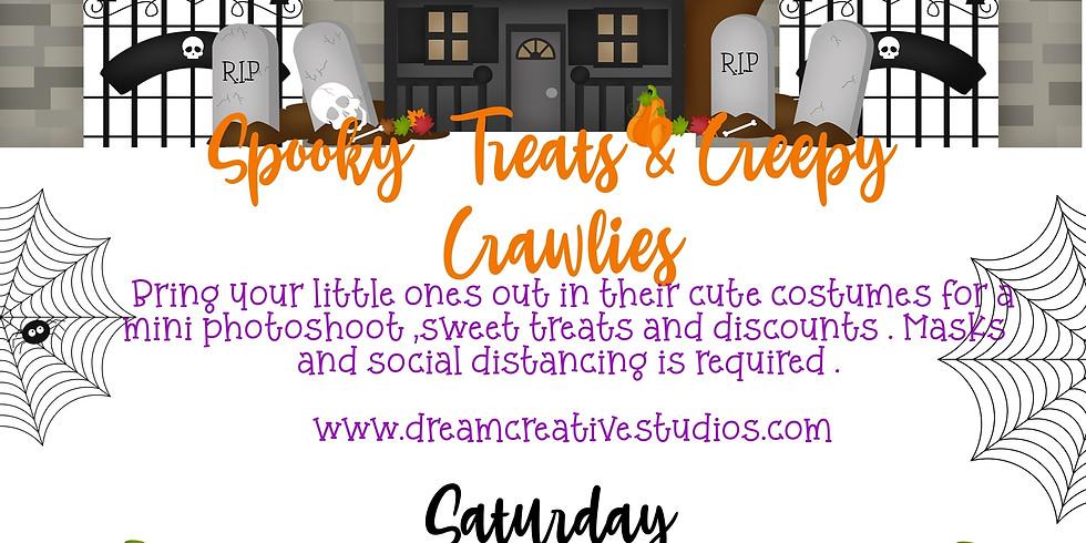 SPOOKY TREATS & CREEPY CRAWLIES