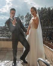 Невеста Юлия в свадебном платье Elen Light