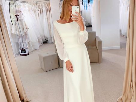 Топ-8 скромных и лаконичных свадебных платьев для любого стиля