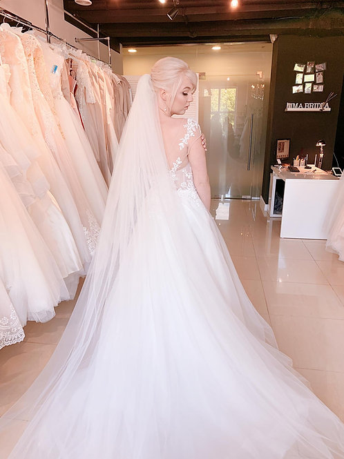 Свадебная фата Veil (шлейф)