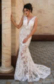 Свадебное платье Vesta в стиле русалка