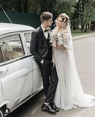 Невеста Ксения в свадебном платье Sonata в стиле Бохо