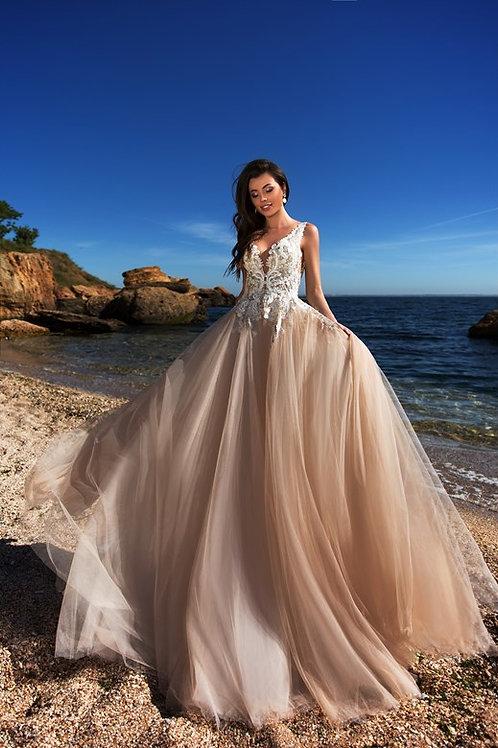 Свадебное платье 01145 Cocles Braun