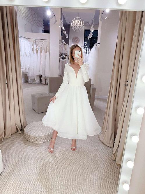 Свадебное платье NM623 midi