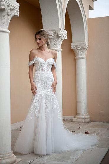Свадебное платье Nuevo в стиле русалка