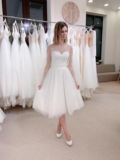 Свадебное платье VV117 Midi