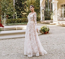 Кружевное свадебное платье Velutto из коллекции 2021 года