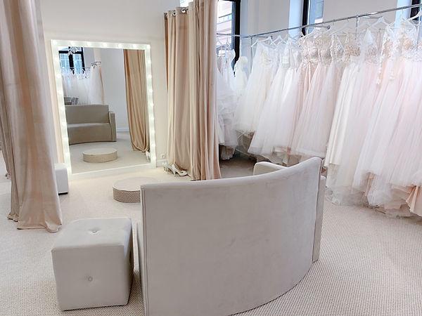 Интерьер свадебного салона PRIMA BRIDAL