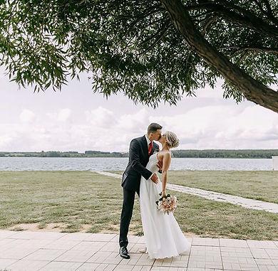 Невеста Регина в свадебном плтье Odri