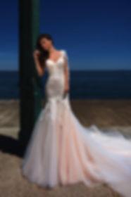 Свадебное платье Thais Mancinella от Ida Torez, коллекция Soul of the Sea