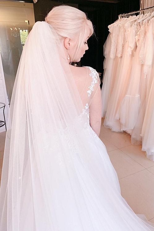 Свадебная фата Veil (в пол)