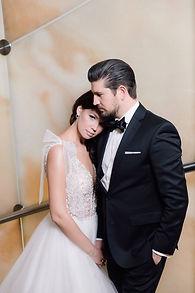 Невеста Виктория в свадебном платье Trace