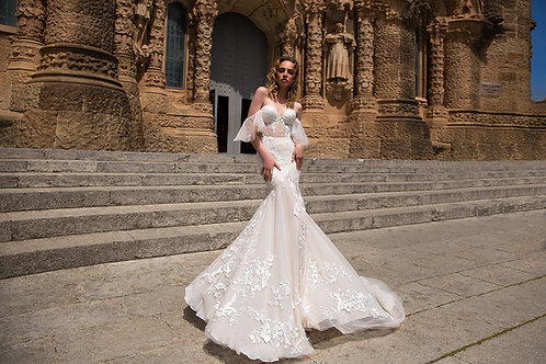 Свадебное платье 01143 Argentona
