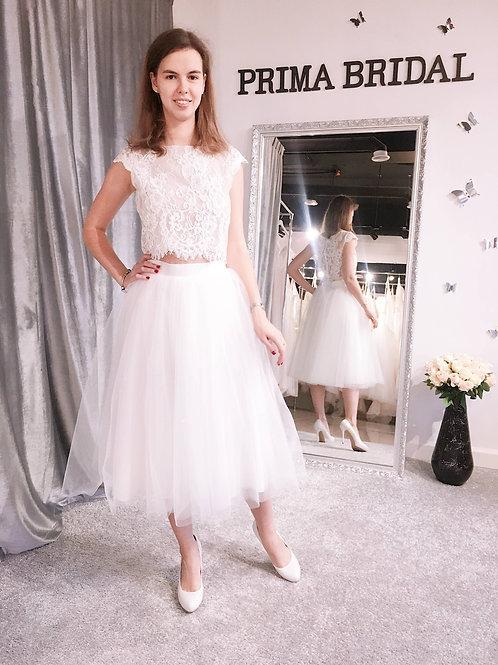 Свадебная юбка UB005 Midi