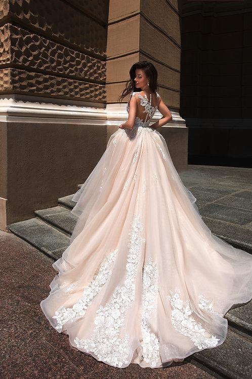 Свадебное платье 01163 Cupraea Tigris