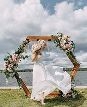 Невеста Регина в свадебном платье Odri