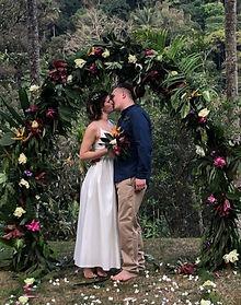 Необычная свадьба в эко-стиле. Невеста Дана в свадебном платье Base Dress #2