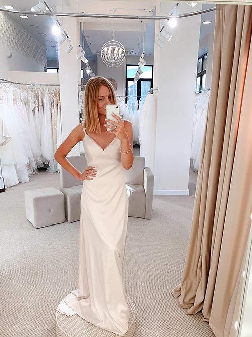 Свадебное платье Base 5 (пудра)