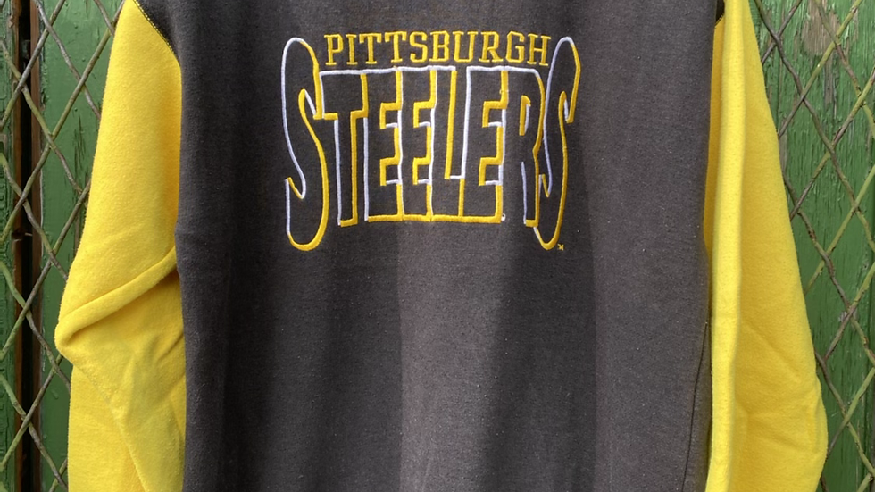 Steelers Black And Yellow Crewneck
