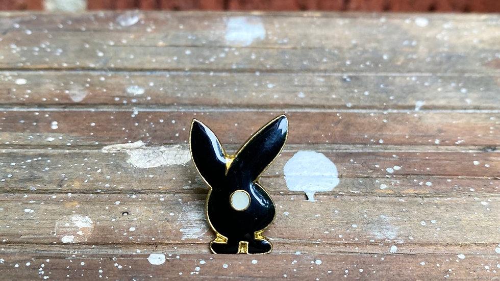 Playboy Bunny Pin (Black)