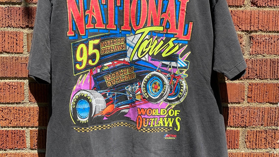 1995 World Of Outlaws Tee