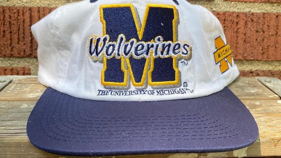 90's Michigan Wolverine Strapback