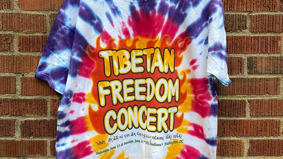 Tibetan Freedom 1998 Tie Dye