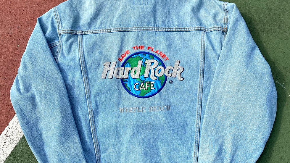 90's Hard Rock Cafe Denim Jacket