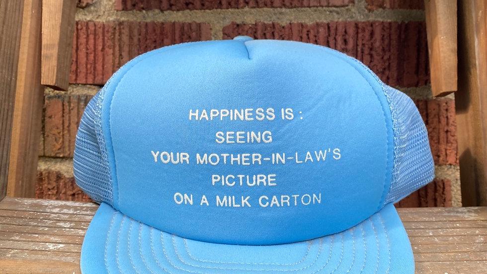 Happiness Is: Trucker Hat