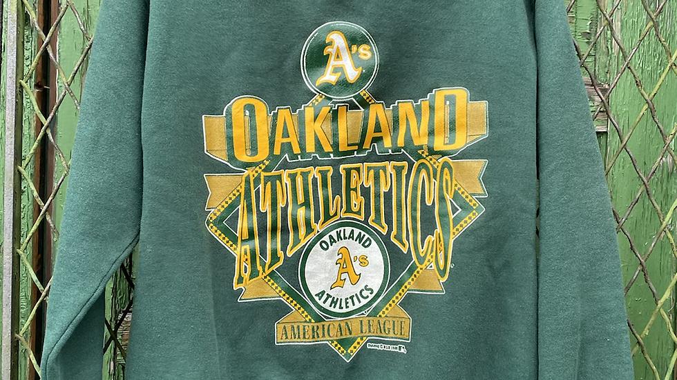 90's Oakland As Crewneck