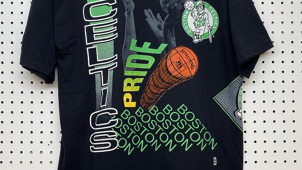 1991 Celtics Aerial Assault Salem Tee