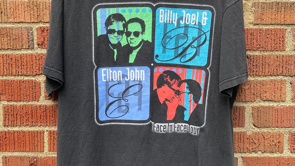 Elton John & Billy Joel Face To Face Tour Tee