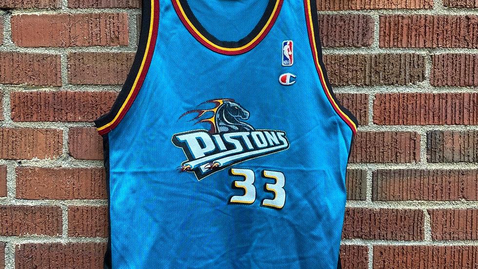 Grant Hill Detroit Pistons Jersey Size Medium