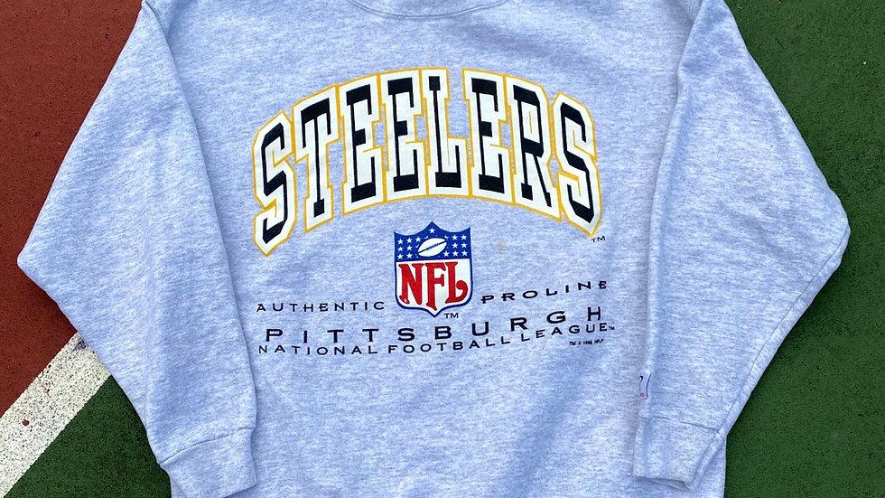1995 Steelers Pro Line Crewneck