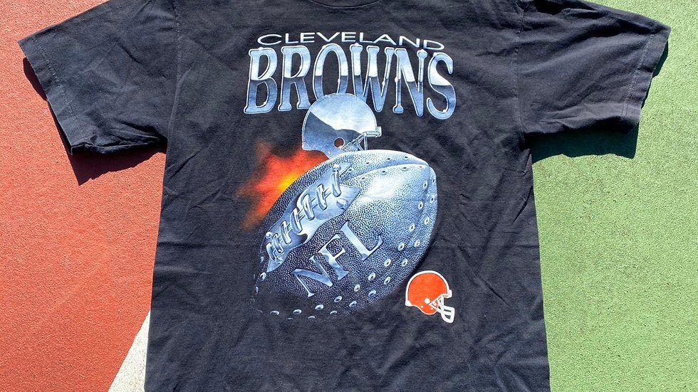 90's Cleveland Browns Football Tee