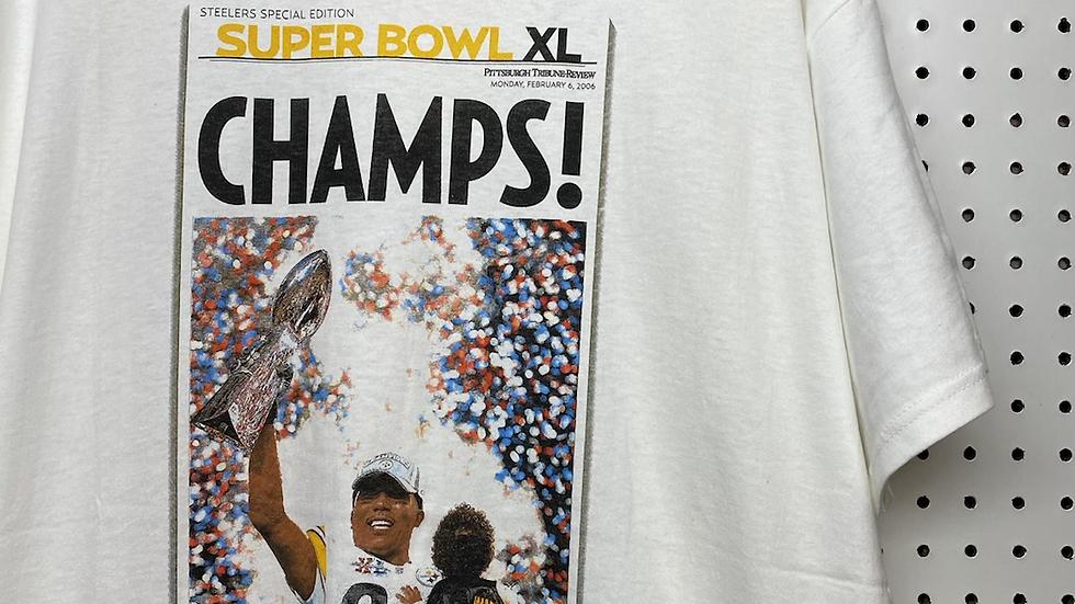 Super Bowl XL 2006 Trib Cover