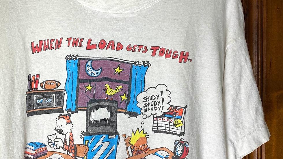 1993 Calvin & Hobbes Parody Tee