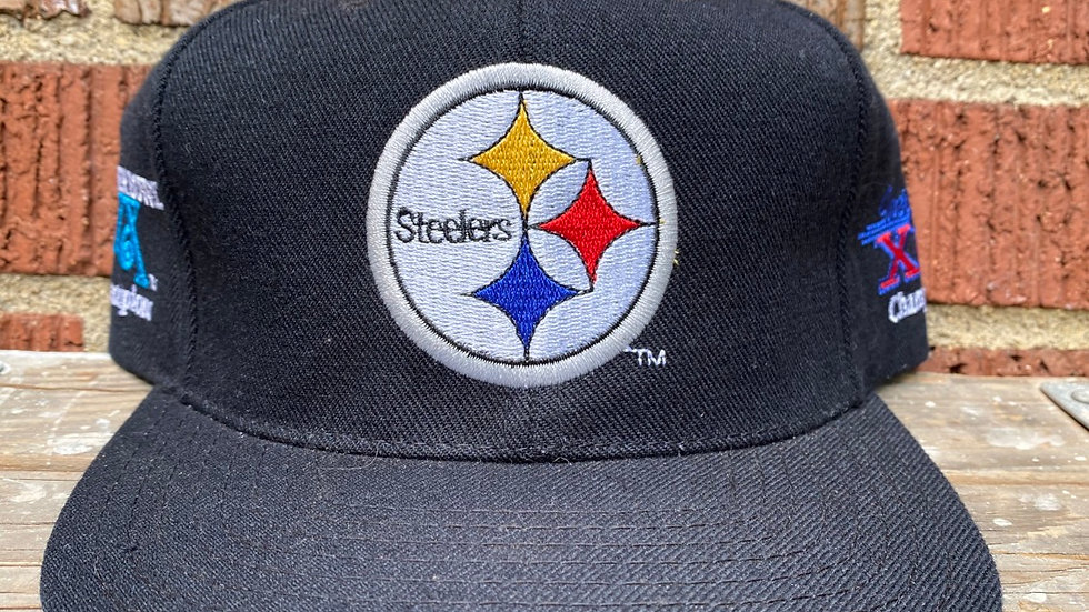 4 Time Super Bowl Champions Steeler Snapback