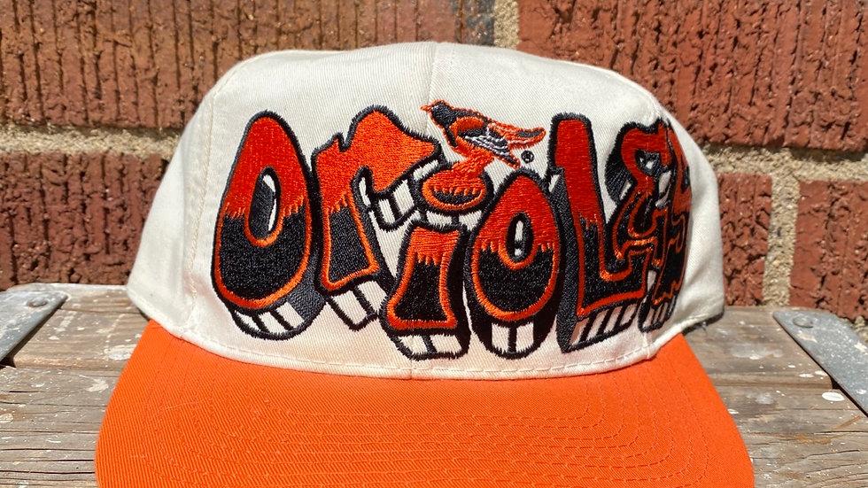 Baltimore Orioles Graffiti Snapback