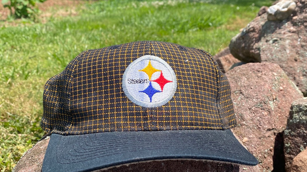 90's Steelers Grid Snapback #2