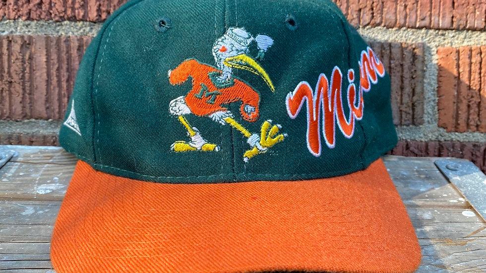 90's Miami Hurricanes Snapback