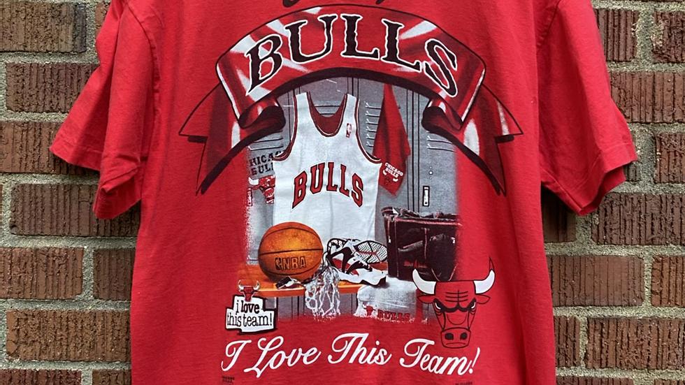 90's Chicago Bulls Magic Johnson Tee