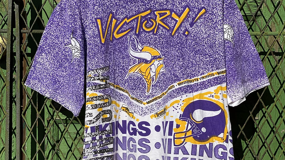 90's Minnesota Vikings All Over Print